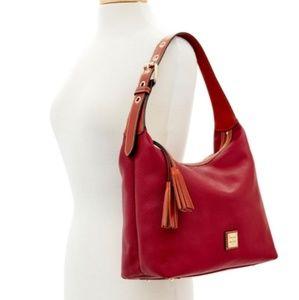 Dooney & Bourke Wine Red Hobo Bag